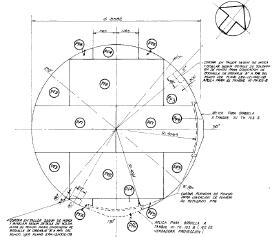 Figura 4. Configuración del piso del tanque.