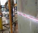 Fotografía 3-A. Prueba de Líquido Penetrante en soldadura circunferencial.
