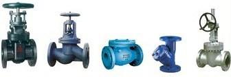 Ilustración 1. Diferentes tipos de válvulas