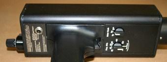 Ilustración 19. Selector de frecuencias en equipo de ultrasonido