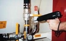 Ilustración 7. Válvula de aire no inspeccionable por termografía