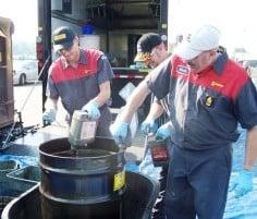 Ilustración 21 Los lubricantes usadose han de gestionar como residuo siguiendo la legislación vigente y las mejores prácticas posibles