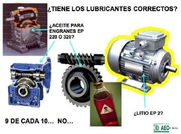 Ilustración 6 ¿Se han seleccionado los lubricantes correctos?
