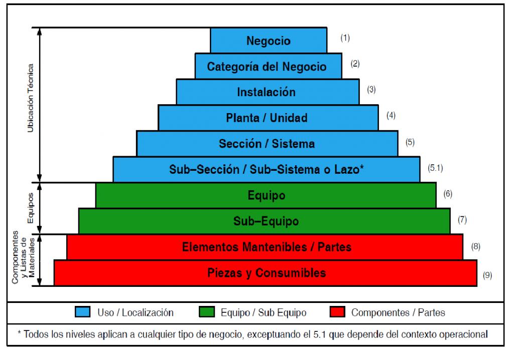 Figura 3. Pirámide de Niveles Taxonómicos