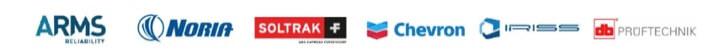 Arms Reliability, Noria, Soltrak, Chevron, Iriss, Prüftechnik