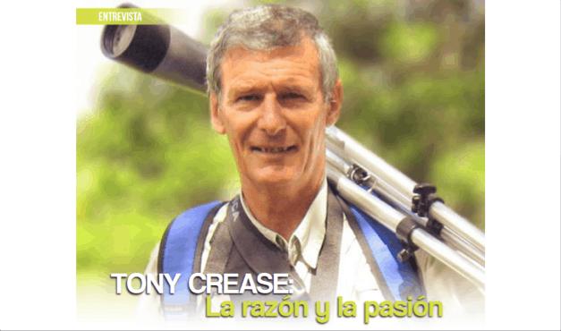 Tony Crease: La razón y la pasión