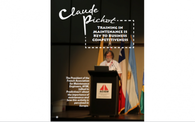 Claude Pichot: Training in Maintenance is Key to Business Competitiveness