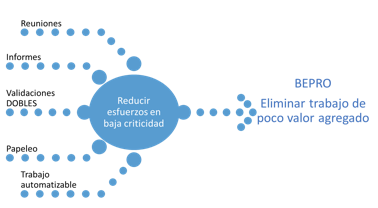 Figura 7. BEPRO : Baja Criticidad.