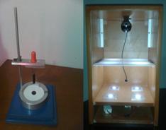Figura No. 5 – Dispositivo para la obtención y registro de la mancha de aceite