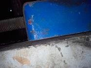 Fotografía 2-B. Fotografías que ilustran la presencia de la pata coja en el caso de estudio (Fotos tomadas por el autor).