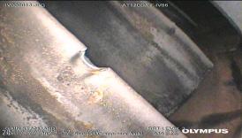 Fig.4. Álabe rotor 1era etapa succión compresor axial