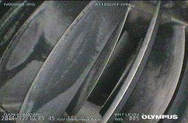 Fig.5. Inlet Guide Vanes (IGV`s) succión compresor axial