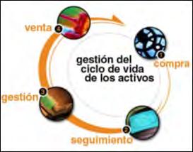 Figura N° 2. Gestión del Ciclo de Vida de los Activos