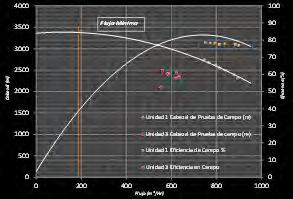 Figura N° 3. Test Campo vs Fabricante Unidad 1 y 3