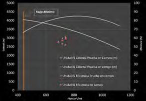 Figura N° 4. Test Campo vs Fabricante Unidad 5 y 6