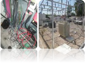 Figura 5. Conexión del analizador y subestación eléctrica