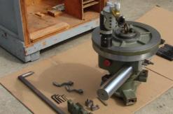 Figura 3. Torno montaje interno hasta 1524 mm. Torno portátil.