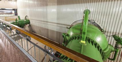 Fotografía 3. Planta válvulas central hidroeléctrica de Susqueda-Girona (España).