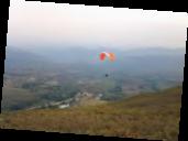 Sesión de vuelo en La Cimarronera. Volar es una de las pasiones de Al Tafech.