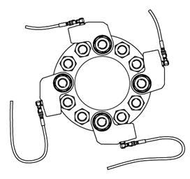 Figura 7.2 Uso de múltiples herramientas de torque