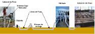 Figura N°1. Esquemático de Pozo y Línea de Flujo Asociada
