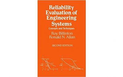 Evaluación de la Confiabilidad de los Sistemas de Ingeniería: Conceptos y Técnicas