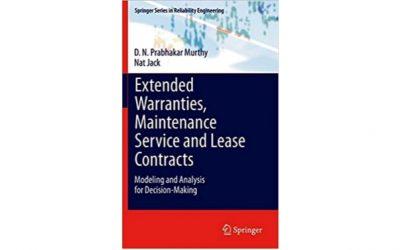 Garantías extendidas, servicio de mantenimiento y contratos de arrendamiento: modelado y análisis para la toma de decisiones