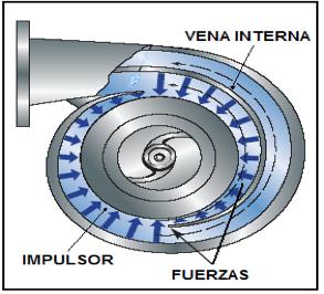 Figura N° 2-15.- Diagrama de una bomba con carcasa, tipo doble voluta.