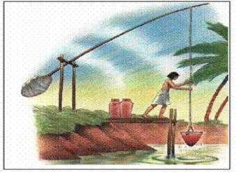 Figura N° 1-1.- Dispositivo antiguo para captar agua de un río.